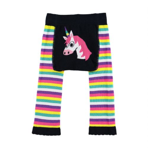 LazyOne Girls Unicorn Infant Leggings
